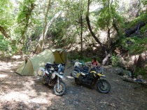 Sweet camp site by the creek on NF203
